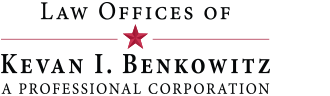 Law Offices of Kevan I. Benkowitz A Professional Corporation